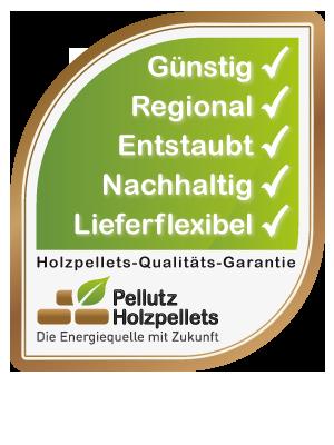 Qualitätssiegel Holzpellets